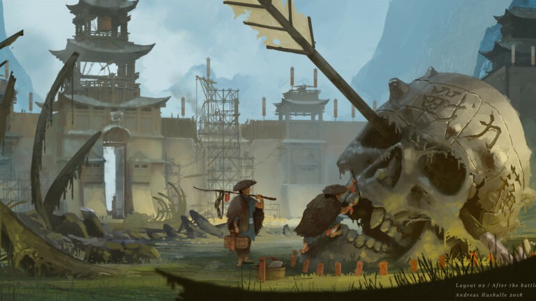 Artstation - Layout 02
